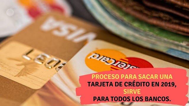 Proceso para sacar una tarjeta de crédito en 2020 (Guía completa)