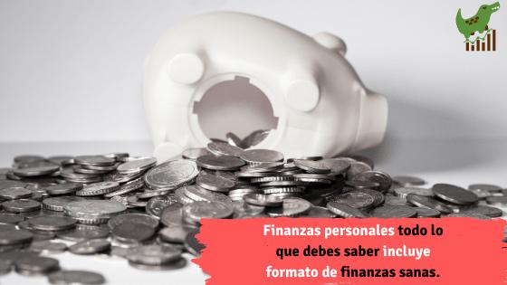 Finanzas personales todo lo que debes saber incluye formato.