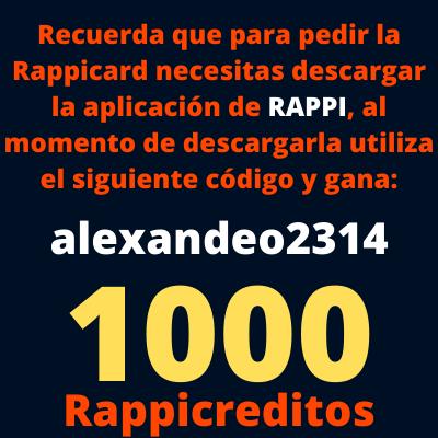 Beneficios de solicitar la Rappicard