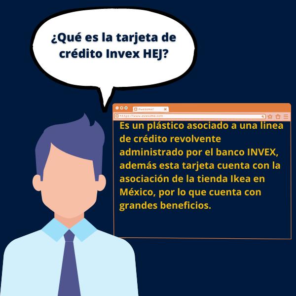 Es un plástico asociado a una linea de crédito revolvente administrado por el banco INVEX, además esta tarjeta cuenta con la asociación de la tienda Ikea en México, por lo que cuenta con grandes beneficios.