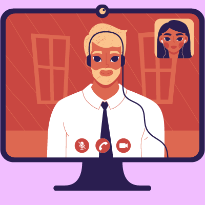 Asesorías financieras en video llamada o por teléfono.
