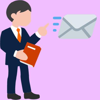 Asesorías financieras por correo electrónico.