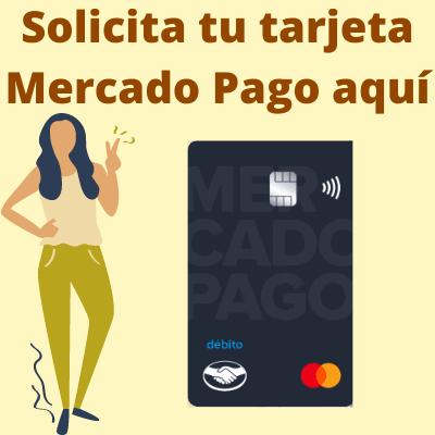 Tarjeta Mercado México pago sin números