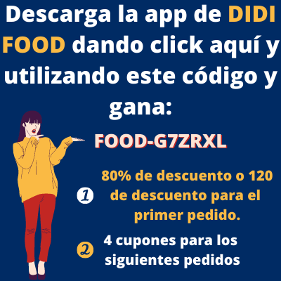 Lo mejor de la app de didi food